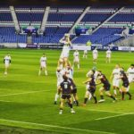Lineout Glasgow Rugby 28th August