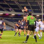 Lineout Edinburgh Rugby 28th August