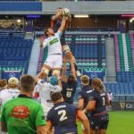 Nick Haining Rises for Lineout