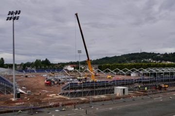 Edinburgh Rugby Stadium Construction