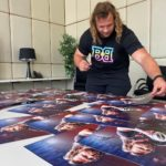 Pierre Schoeman Signing Posters -Many posters for Pierre to sign